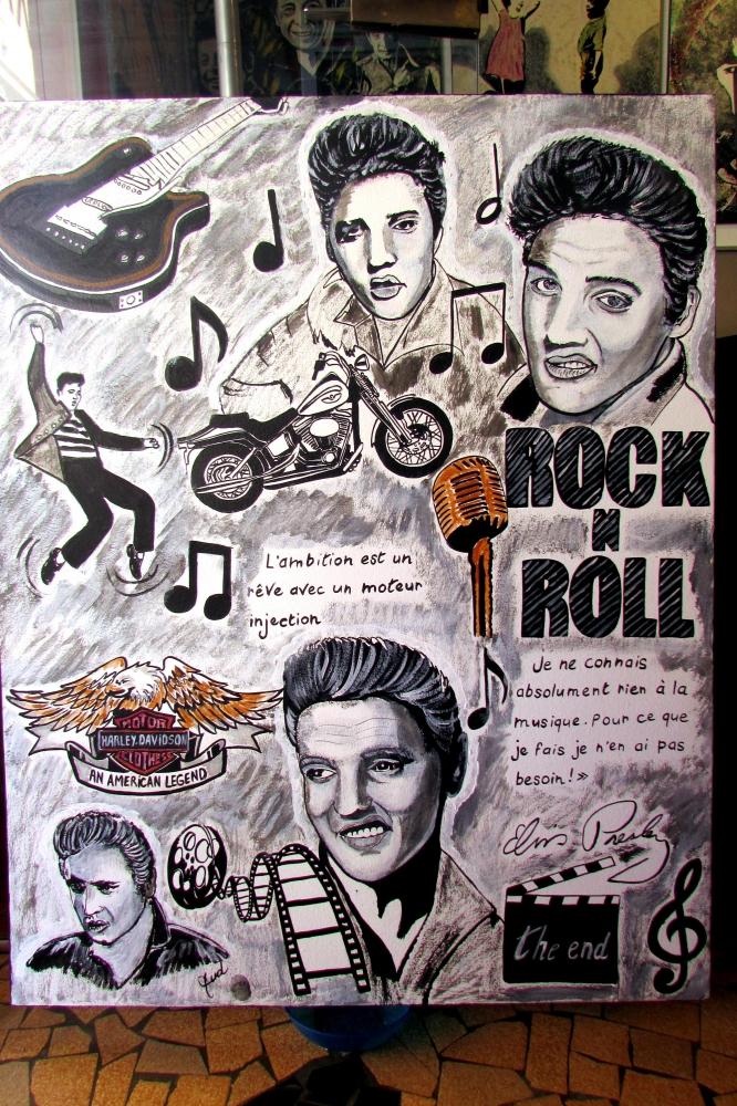 Elvis Presley by JUD